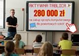 Powiat zgierski: laptopy i tablice interaktywne dla szkół