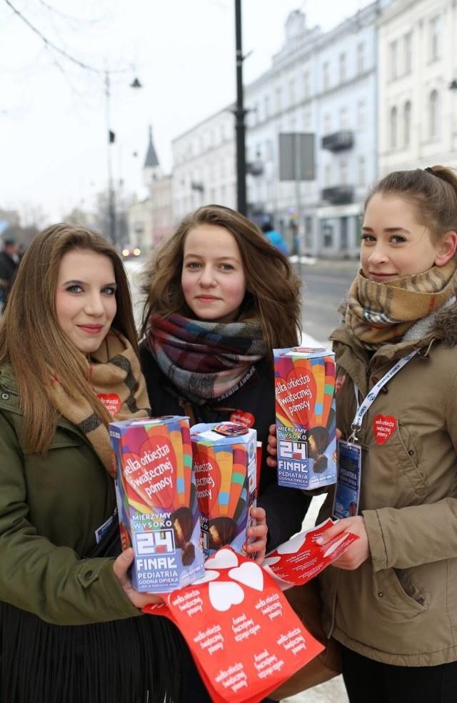 WOŚP 2016 w Piotrkowie, na ulice miasta i powiatu wyszło pół tysiąca wolontariuszy