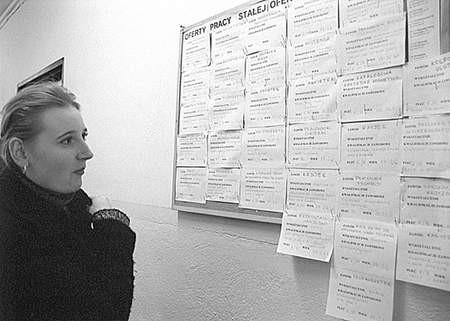 Patrycja Nowak, która szuka pracy, chętnie skorzystałaby z takiego programu  Fot: Sylwester Witkowski
