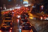 Zima w Małopolsce. Utrudnienia na drogach [ZDJĘCIA]