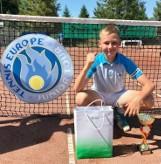 Tenis ziemny. Sądeczanin Wiktor Jeż z STT Fakro drugi w Słowenii