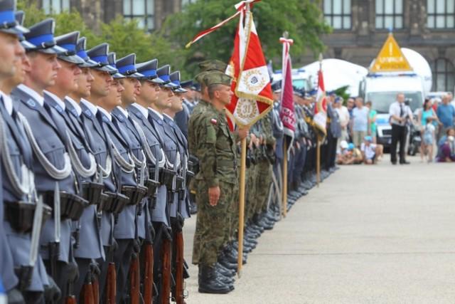 Święto policji w Poznaniu