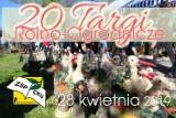 20. Targi Rolno - Ogrodnicze w Przygodzicach odbędą się już w niedzielę 28 kwietnia