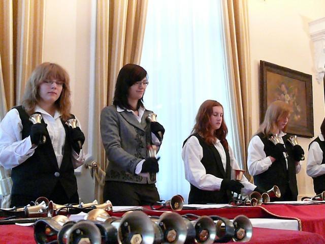 Zelowskie Dzwonki występowały m.in. podczas polskich obchodów celebracji prezydencji Czech w Unii Europejskiej