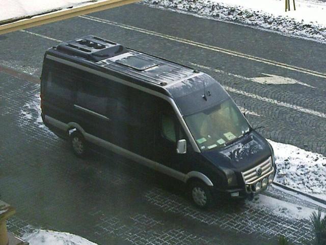 Do kradzieży Volkswagena Craftera doszło w nocy z 21 na 22 maja.