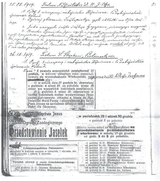 Dokument, który wskazuje, że powstanie wybuchło wcześniej