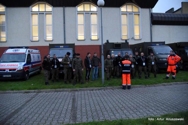 Zamach terrorystyczny i napad na stację benzynową – to scenariusz międzynarodowych zespołów ratowniczych Green Medline 17, które rozpoczynają się dziś w Międzyrzeczu.