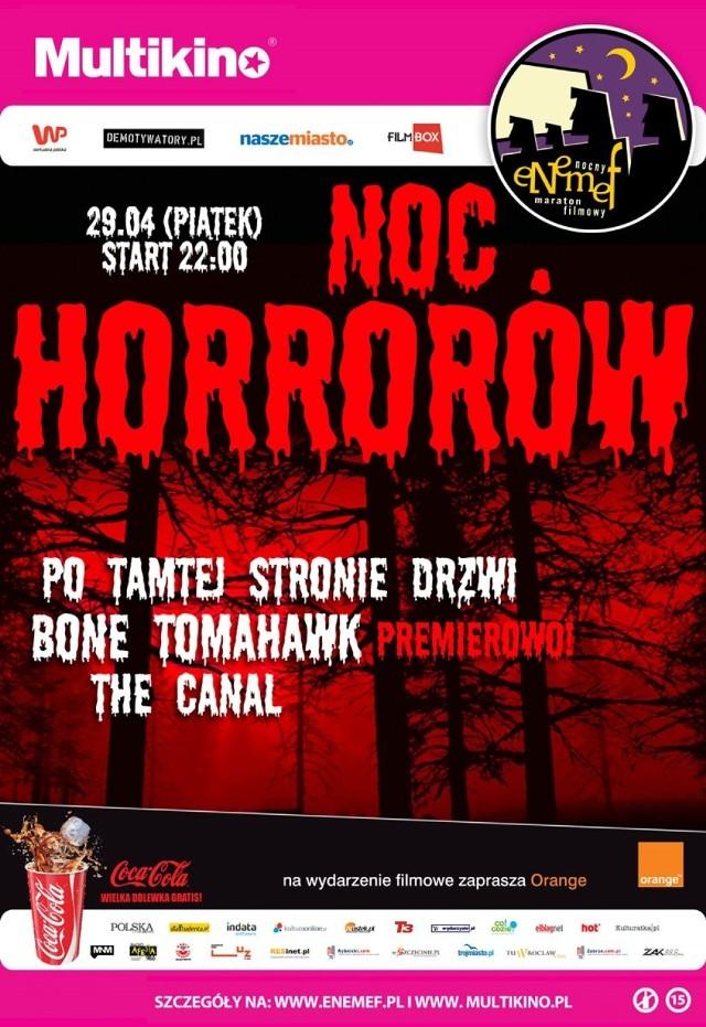 ENEMEF: Noc Horrorów. Wygraj podwójny bilet na nocny maraton filmowy w Multikinie [KONKURS]