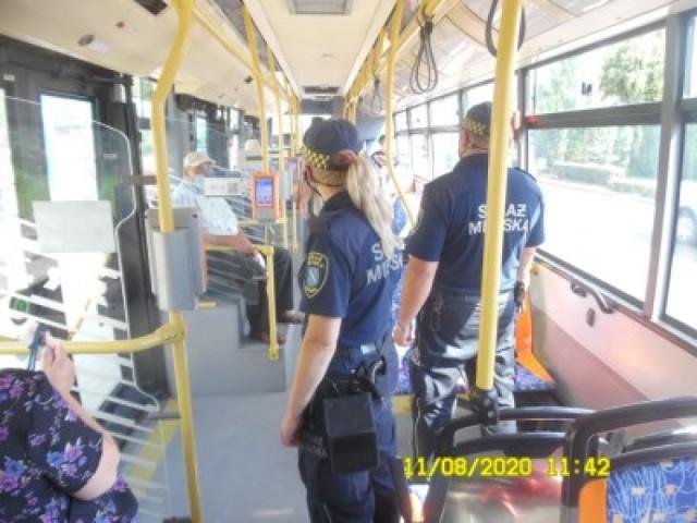 Rybnicka Straż Miejska rozpoczęła kontrole w miejskich autobusach.