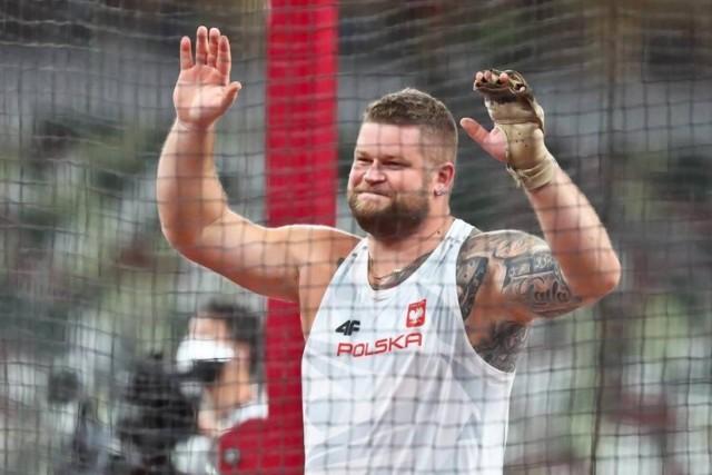 Paweł Fajdek brązowy medalista w rzucie młotem na Olimpiadzie w Tokio