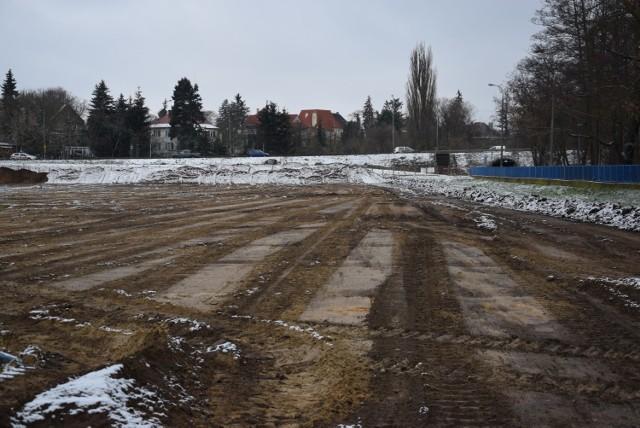 Przebudowa stadionu rozpoczęła się w połowie stycznia 2021.