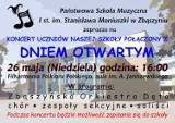 Dzień Otwarty - Państwowa Szkoła Muzyczna im. Stanisława Moniuszki Zbąszyń