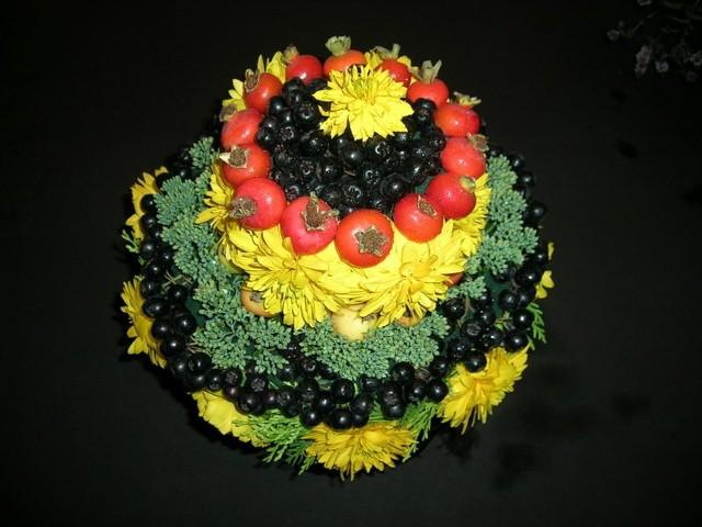 Kwiatowy torcik otrzymał nagrodę główną publiczności.