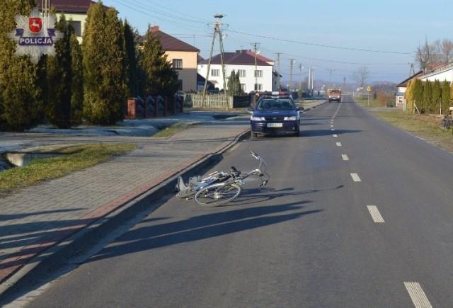 Ranne dziecko zostało przetransportowane śmigłowcem do szpitala w Lublinie