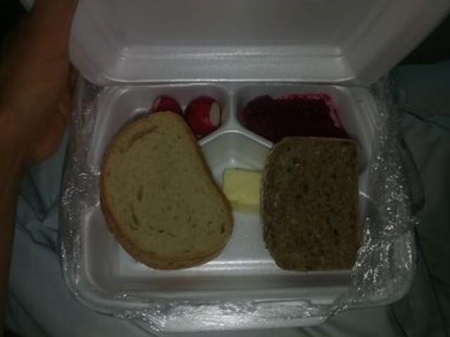 Tak wygląda posiłek w nowotomyskim szpitalu!