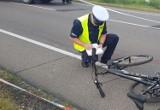 Nietrzeźwy rowerzysta wjechał w pieszego w Tucholi na ul. Świeckiej