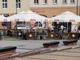 Chrzanów. Ostatni weekend z ogródkami gastronomicznymi na Rynku. Później rusza remont [ZDJĘCIA]