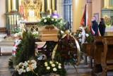 Pogrzeb Barbary Rogulskiej, wieloletniej pracownicy Urzędu Miejskiego w Jędrzejowie, przyjaciela rodziny Przypkowskich