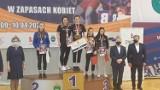 Dwie wychowanice Zapaśniczego Klubu Sportowego Miastko Mistrzyniami Polski Juniorek