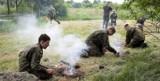 Podczas obozu młodzi kadeci z Zespołu Szkół Energetycznych i Transportowych w Chełmie przeszli szkolenie. Zobacz zdjęcia