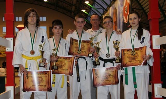 5 medali zawodników K.S.W. WŁOCŁAWEK