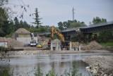 Tarnów-Ostrów. Było kilka dni opóźnień, ale nie ma ryzyka, żeby budowa mostu w Ostrowie się przedłużyła [ROZMOWA]