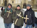 Ekstremalna Droga Krzyżowa w śniegu: pokonali własną słabość[ZDJĘCIA]