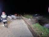 Wypadek za obwodnicą Nysy. Między Wyszkowem Śląskim i Kubicami zderzyły się dwa samochody