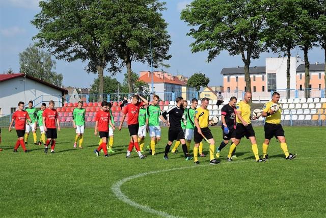 Mecz 25. kolejki piłki nożnej w IV lidze lubuskiej: Pogoń Świebodzin - Lubuszanin Drezdenko