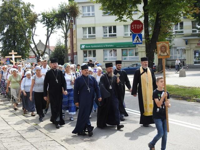 W pielgrzymce z Bielska Podlaskiego na Świętą Górę Grabarkę bierze udział kilkadziesiąt osób