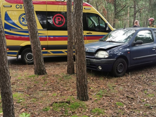 Wypadek na ulicy Ziołowej we Włocławku