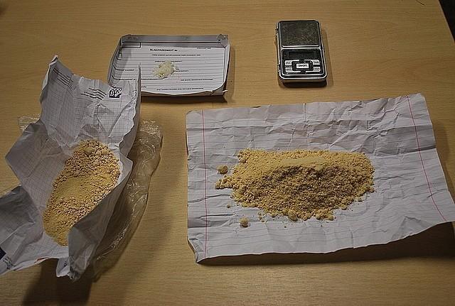 Policjanci zabezpieczyli 115 gramów amfetaminy