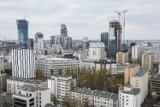 Panorama Warszawy. Jak centrum miasta wygląda z wysokości? Wspięliśmy się na jeden z budowanych wieżowców