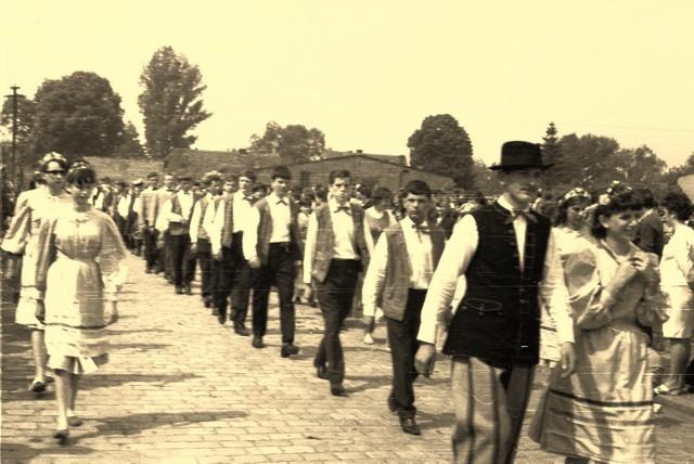 Obchody 1000-lecia Polski w Krośnie Odrzańskim (1966 rok).