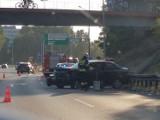 Kolizja na A4 w Katowicach. Zderzyły się dwa samochody [ZDJĘCIA]