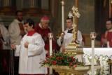 Relikwie drzewa Krzyża Świętego trafiły do archikatedry lubelskiej. Upamiętniono także Prymasa Tysiąclecia. Zobacz zdjęcia