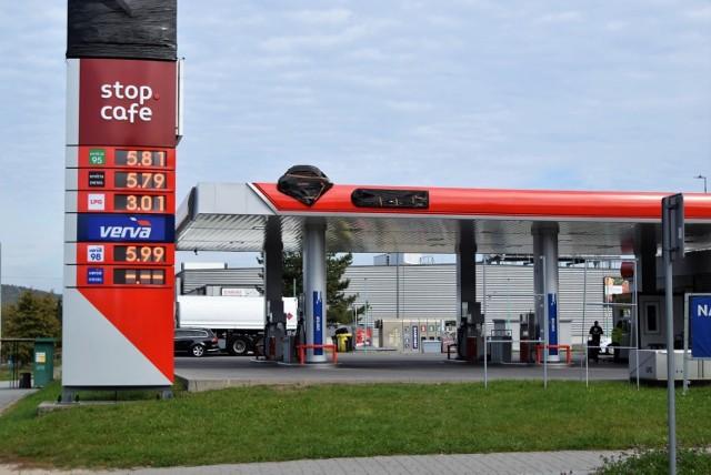 Ceny paliw przyprawiają kierowców o zawrót głowy szybując ostatnio do nawet sześciu złotych za litr, a nawet więcej. W poniedziałek sprawdziliśmy, jakie stawki są na kieleckich stacjach.   Zdjęcia ułożyliśmy od najwyższych cen paliwa 95Pb i oleju napędowego do najniższych w Kielcach   Zobacz na kolejnych slajdach ceny paliw w Kielcach w poniedziałek 11 października 2021>>>