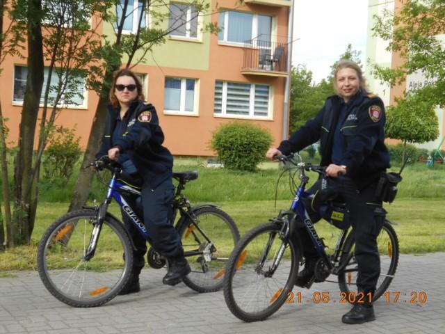 Patrole rowerowe Straży Miejskiej w Sieradzu już ruszyły