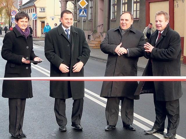 Trasa drogowa Północ-Południe była pierwszą wspólną inicjatywą obu powiatów