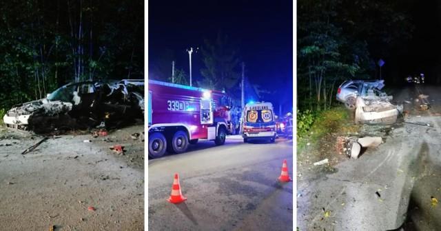 Dramatyczny wieczór na pomorskich drogach w piątek, 20.08.2021r! 1 osoba nie żyje, 9 rannych