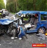 Wypadek w Pradłach. Na DW794 zderzyło się sześć pojazdów [AKTUALIZACJA]
