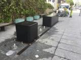 Kiedy ruszą miejskie fontanny w Kielcach? Kurtyna wodna na parkingu działała... jeden dzień