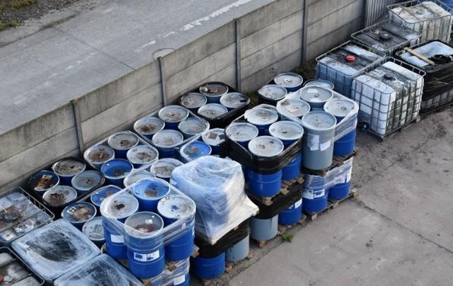 Nielegalne substancje w Skarbimierzu osiedlu znaleziono w piątek, 15 maja.