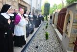 Kraków. Poświęcenie figury św. Józefa i Drogi Krzyżowej u Franciszkanek w Podgórzu [ZDJĘCIA]
