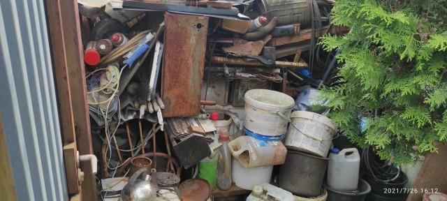 Interwencja dotycząca gromadzenia odpadów przez mieszkańca ulicy Oświęcimskiej wpłynęła do bydgoskiego Urzędu Miasta już w... 2003 roku!