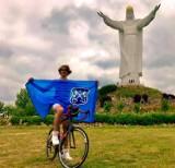 Przemierzył rowerem 527 km w niecałą dobę [ZDJĘCIA]