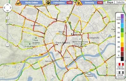 Mapa Samochodowa Jak Dojechać Planowanie Trasy Nawigacja Korki