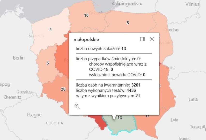 Koronawirus w Polsce odpuszcza. Optymistyczne niedzielne dane, zakażeń dużo mniej niż rok temu [13.06.2021]