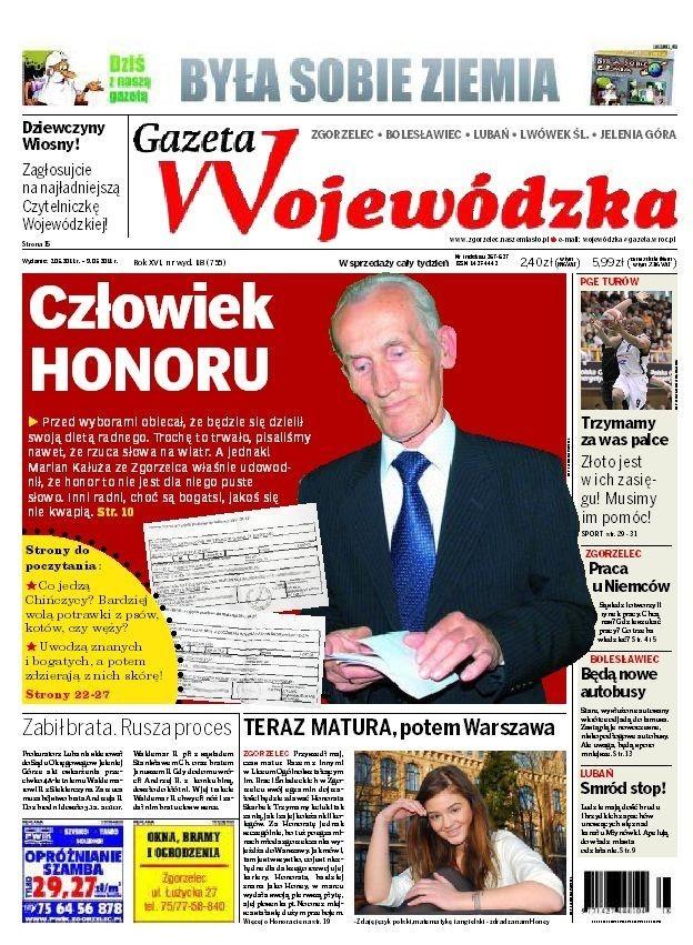 Nowa Gazeta Wojewódzka już od poniedziałku