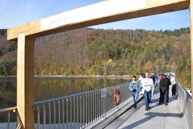 Korona zapory w Wapienicy na co dzień jest zamknięta, dlatego z możliwości jej zwiedzania zawsze korzysta mnóstwo osób